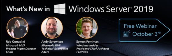 Windows webinar