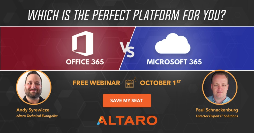 Office 365 or Microsoft 365? Which one is the better suited for your needs?